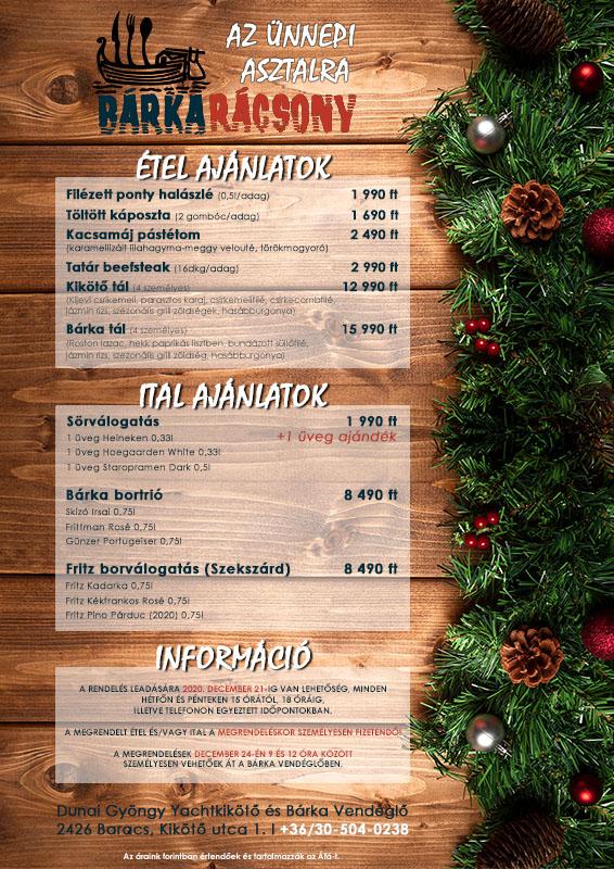 karácsonyi rendelés