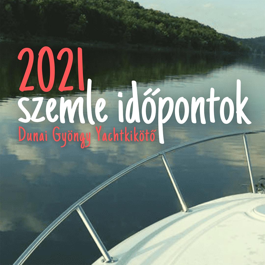 szemle időpontok 2021